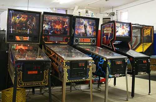 Rent pinball machines